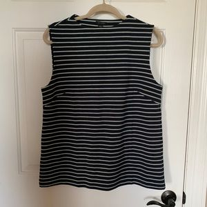 NWT Ann Taylor Striped Top Size Large